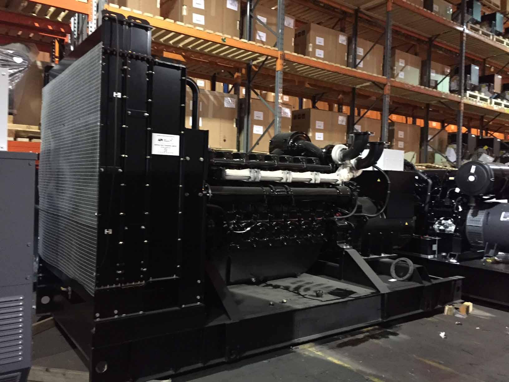 Perkins 450kVA Prime 500kVA Standby Diesel Generator