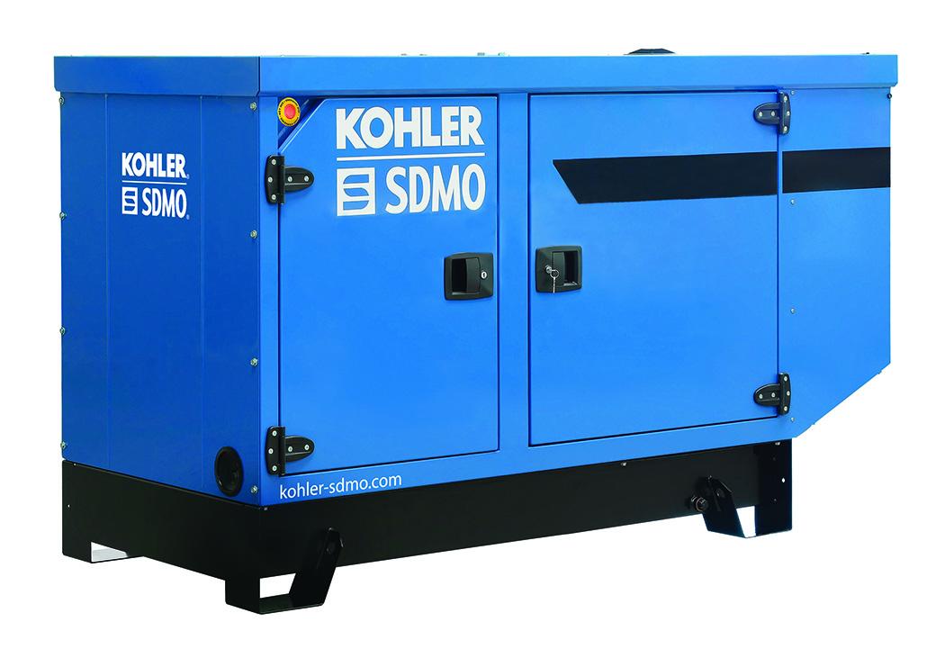 Kohler Single Phase 45A (10.7 kVA) Silent Diesel Generator