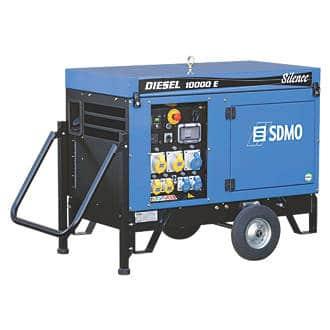 SDMO 10000E 9000W PORTABLE GENERATOR 110/230V