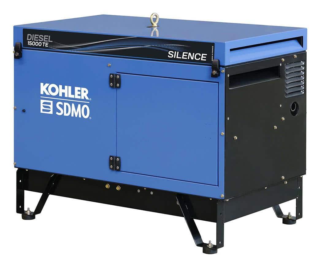 SDMO 15000TA 10000W PORTABLE GENERATOR 230/415V