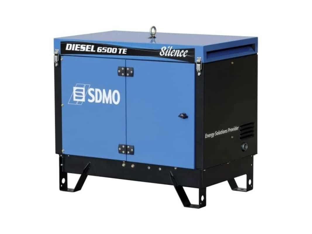 SDMO 6500TA 6500W PORTABLE 3Ph GENERATOR 230 / 415V