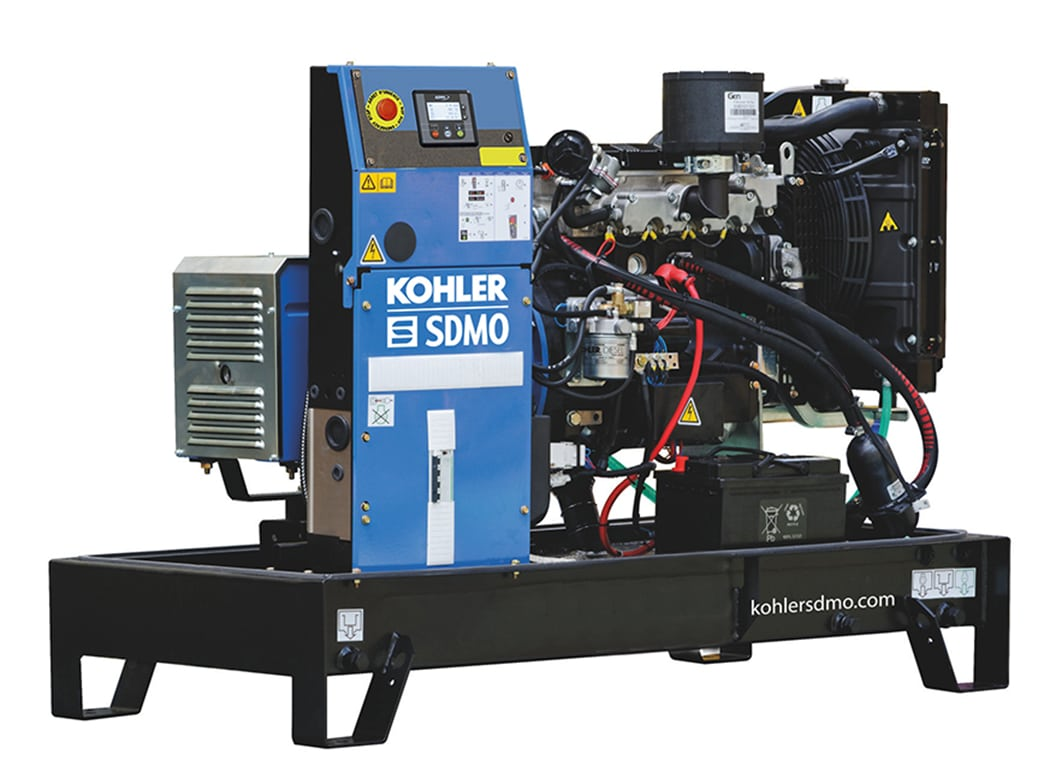 Kohler Single Phase 45A (10.7 kVA)  Diesel Generator