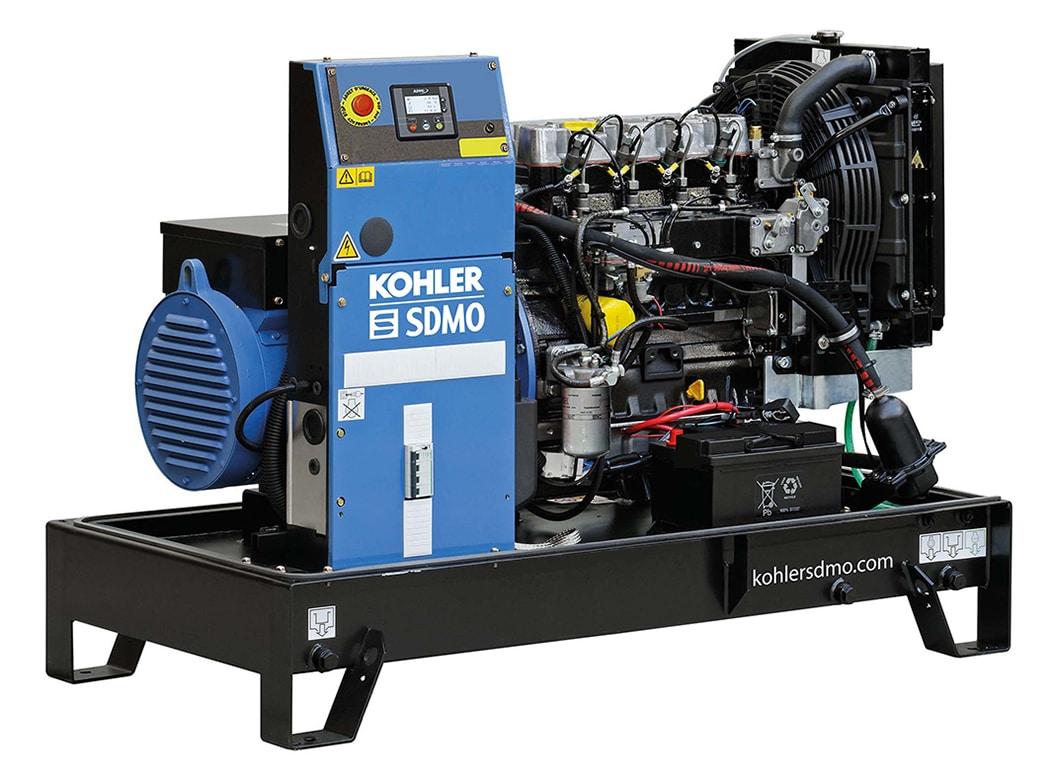 Kohler Single Phase 65A (15.6kVA) Diesel Generator