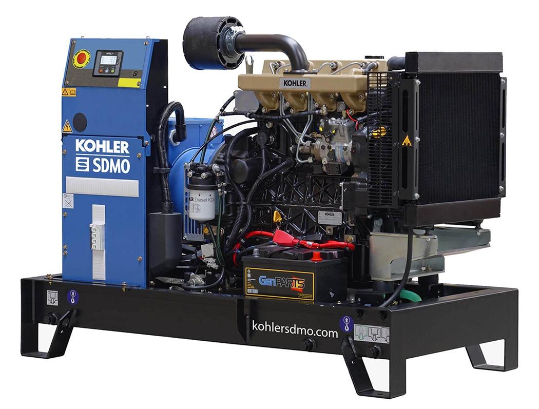 Kohler Single Phase 98A (23.6kVA) Diesel Generator