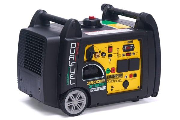 Champion 3400 Watt LPG Dual Fuel Inverter Generator