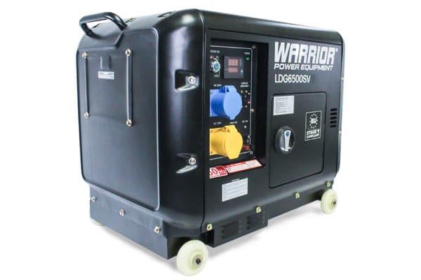 Warrior 6.25 kVa Diesel Generator