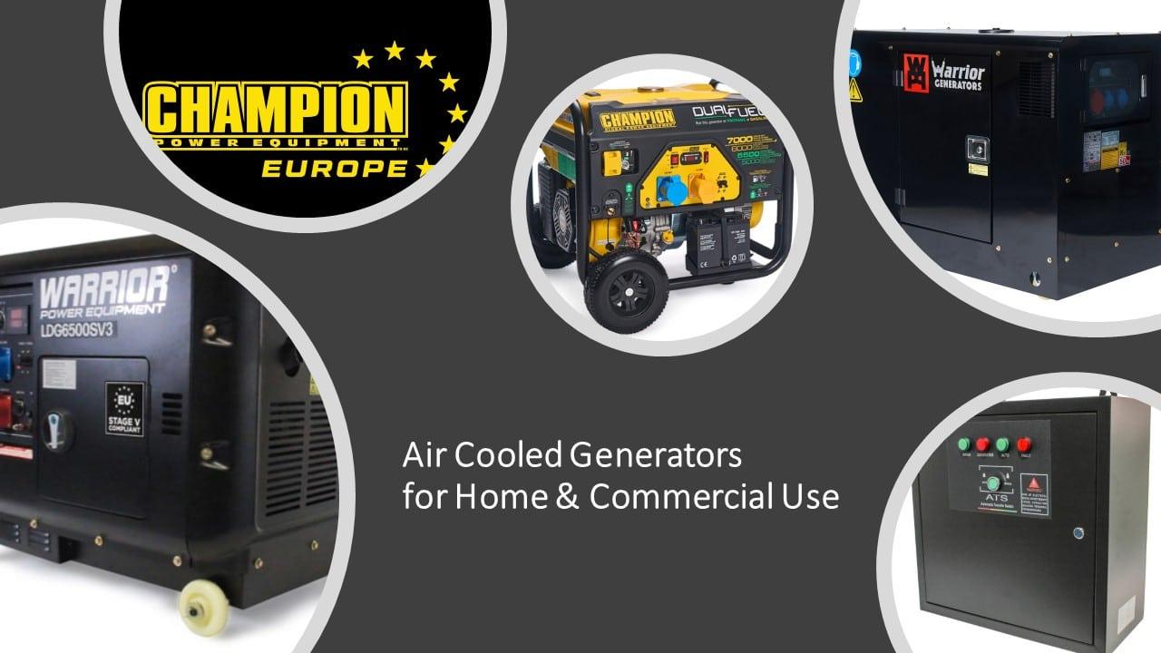 Air Cooled Generators (Select Below)