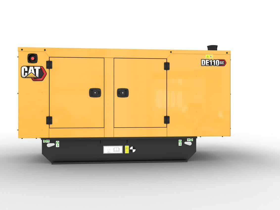 CAT GC 110kVA Standby Diesel Generator