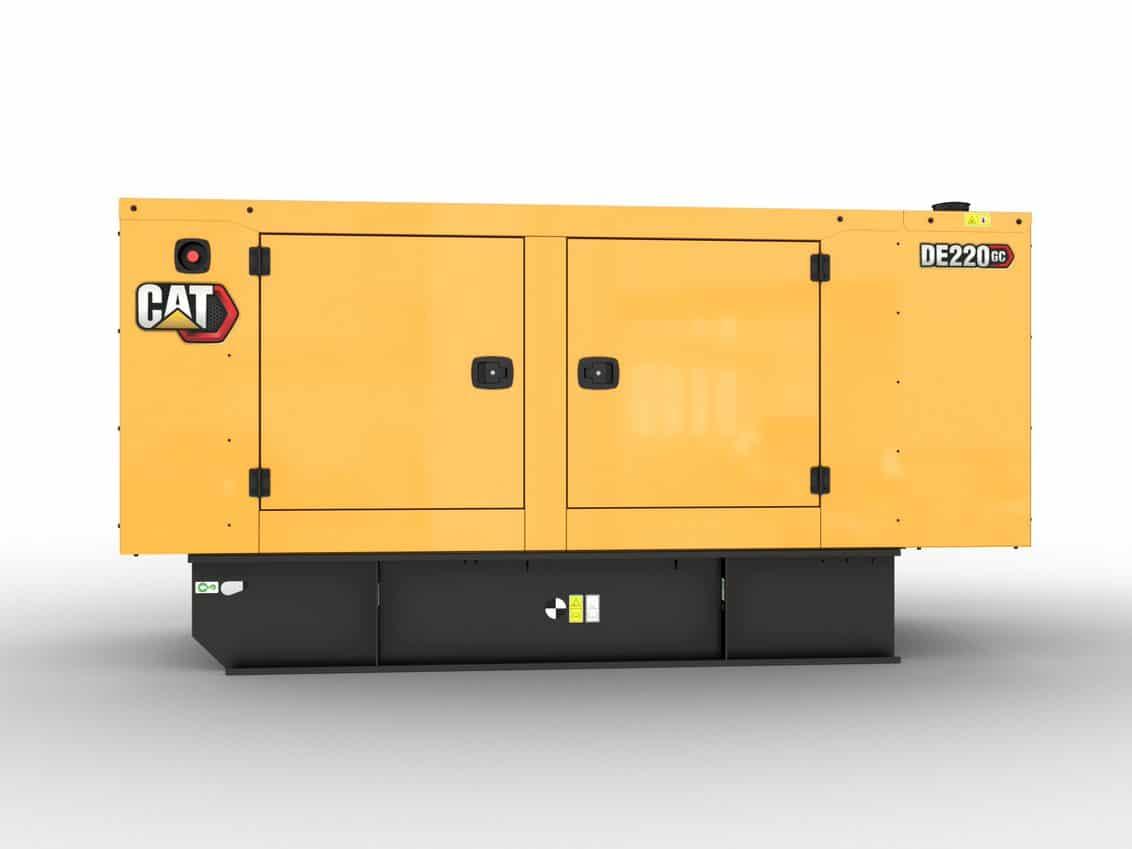 CAT GC 220kVA Standby Diesel Generator