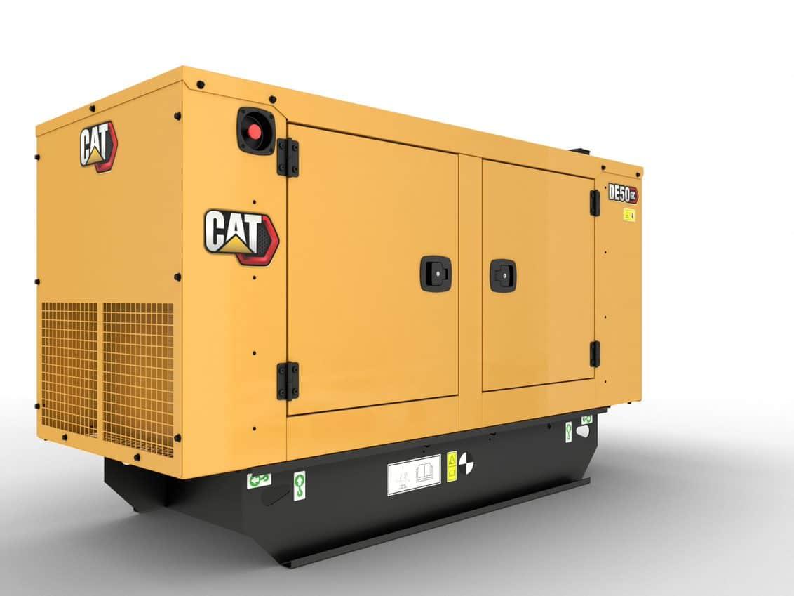 CAT GC 50kVA Standby Diesel Generator