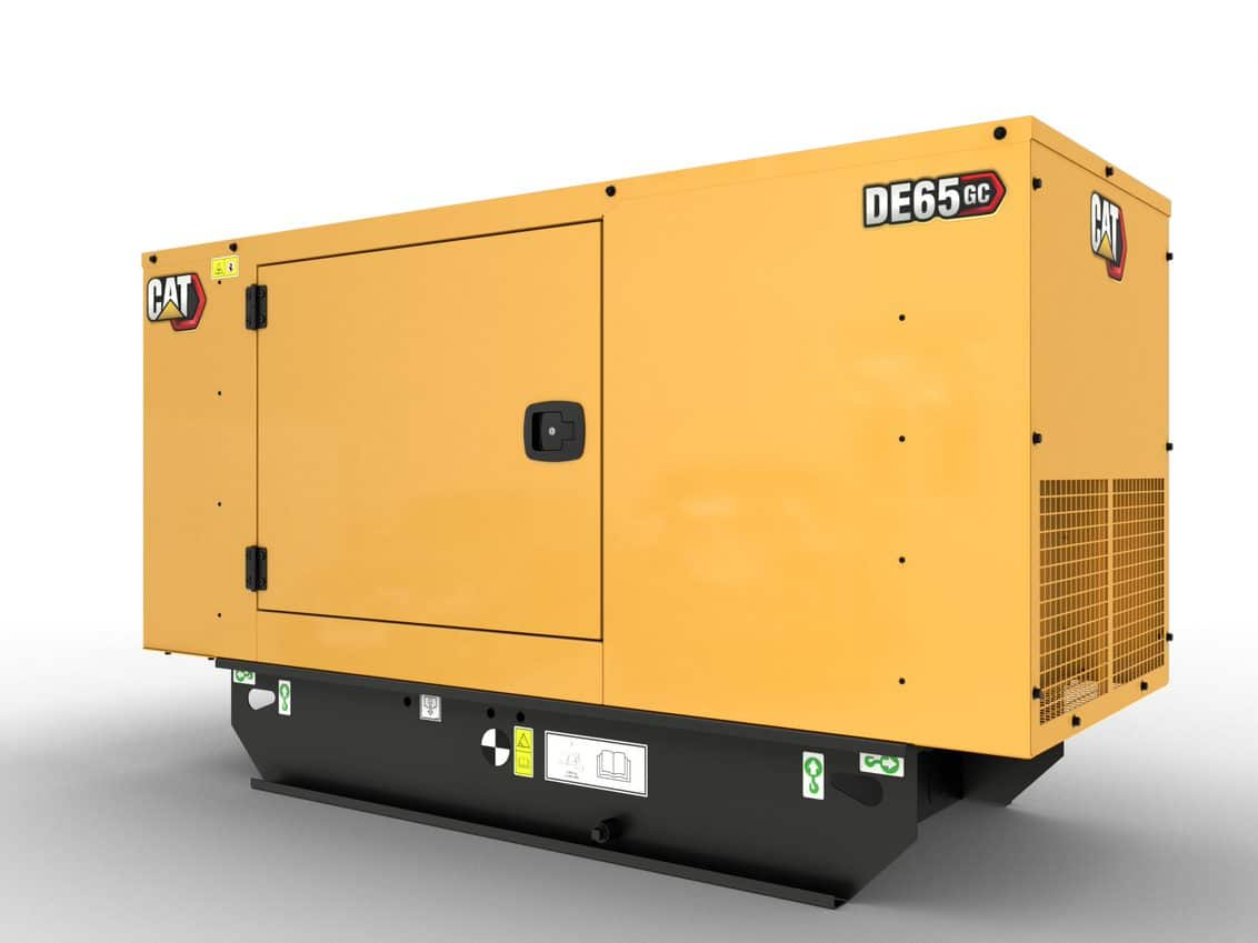 CAT GC 65kVA Standby Diesel Generator