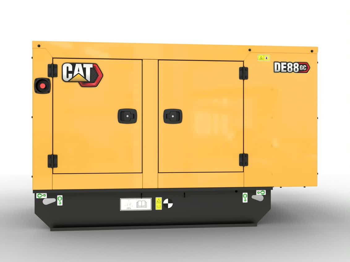 CAT GC 88kVA Standby Diesel Generator