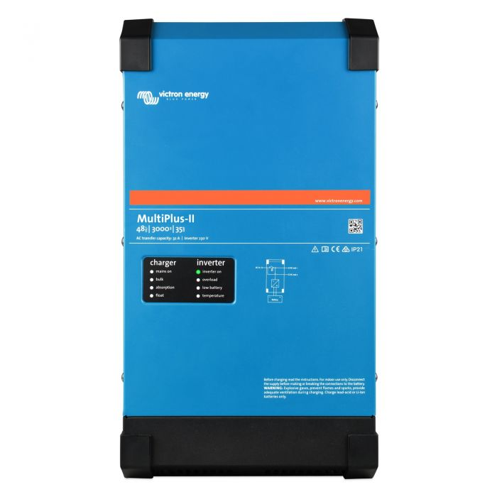 3kVA 4.8kWh Battery System with 8kVA Generator (With Solar Panels & Charger)